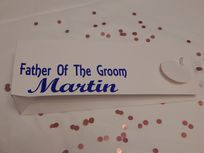 Father Of The Groom Personalised Gift Bag